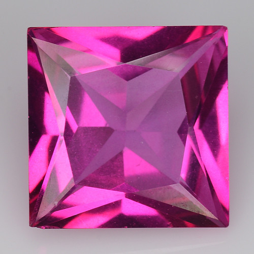 3.64Cts Pink Topaz Top Cut and Luster Gemstone PT30