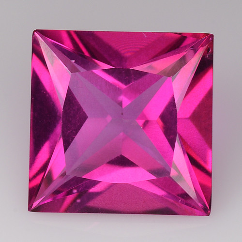 3.28Cts Pink Topaz Top Cut and Luster Gemstone PT39
