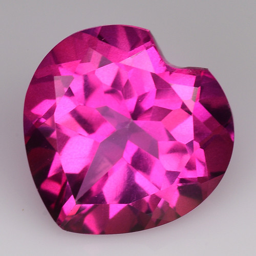 4.23Cts Pink Topaz Top Cut and Luster Gemstone PT45