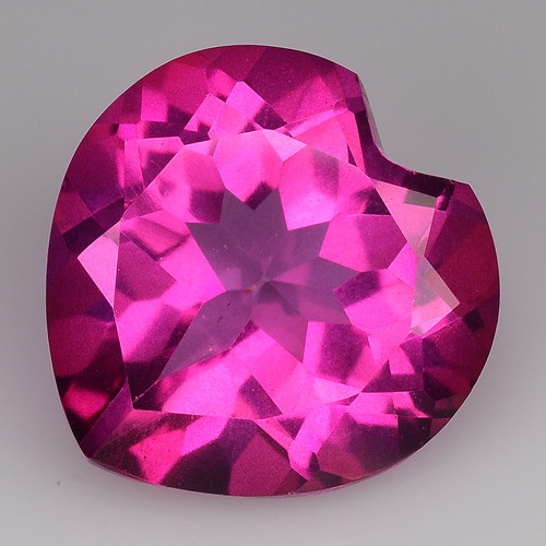 3.85Cts Pink Topaz Top Cut and Luster Gemstone PT47
