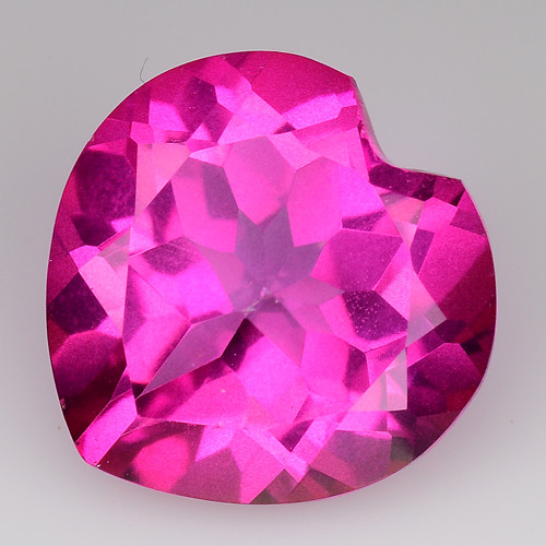 4.05Cts Pink Topaz Top Cut and Luster Gemstone PT49