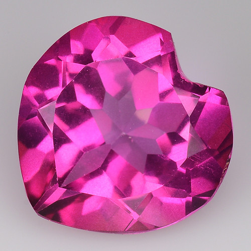 3.64Cts Pink Topaz Top Cut and Luster Gemstone PT61