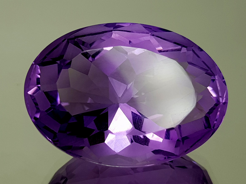 38CT NATURAL AMETHYST PRECISION CUT IGCAMPP18