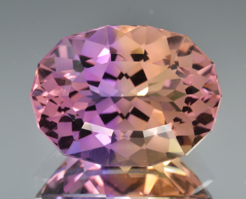 Natural Bolivian Ametrine 11.40 Cts Top Quality with Precision Cut