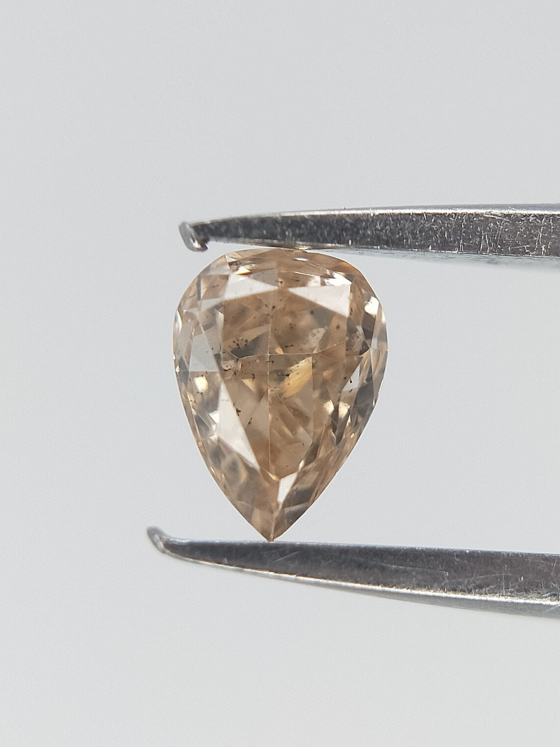 0.13 CTS , Yellow Overtone Diamond , Diamond For Jewelry