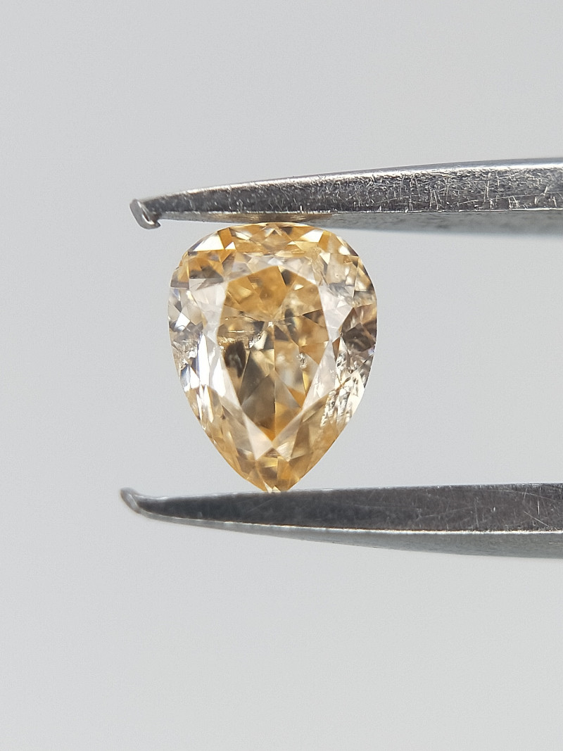 0.11 ct , Natural Pear Diamond , Diamond For Jewelry