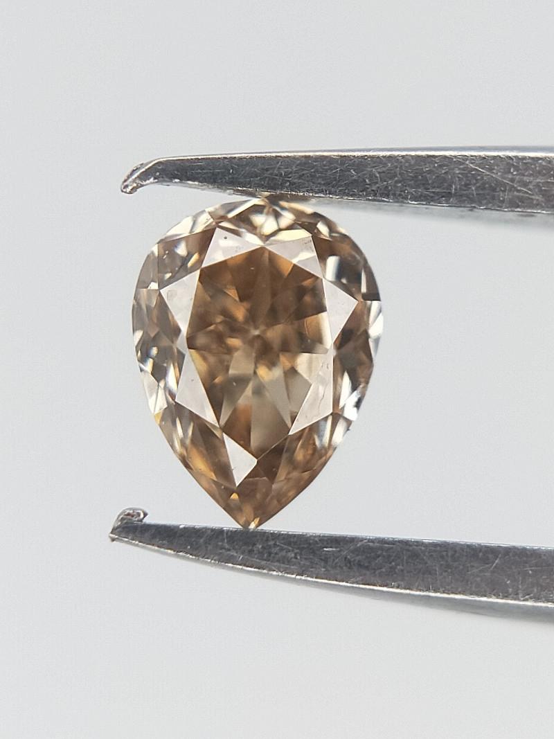 0.10 CT , Brown Natural Diamond , Diamond For Jewelry