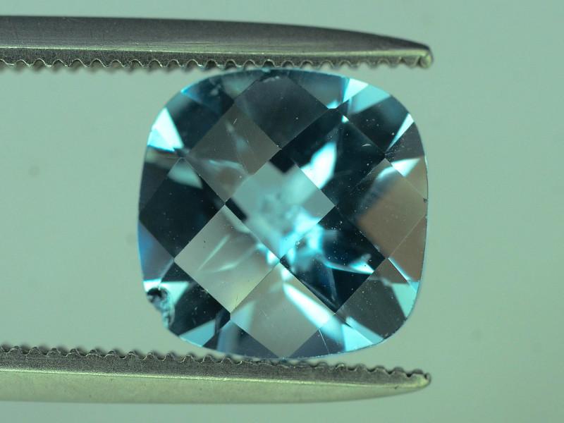 Fancy Cut Amazing Color 2.50 ct Blue Topaz