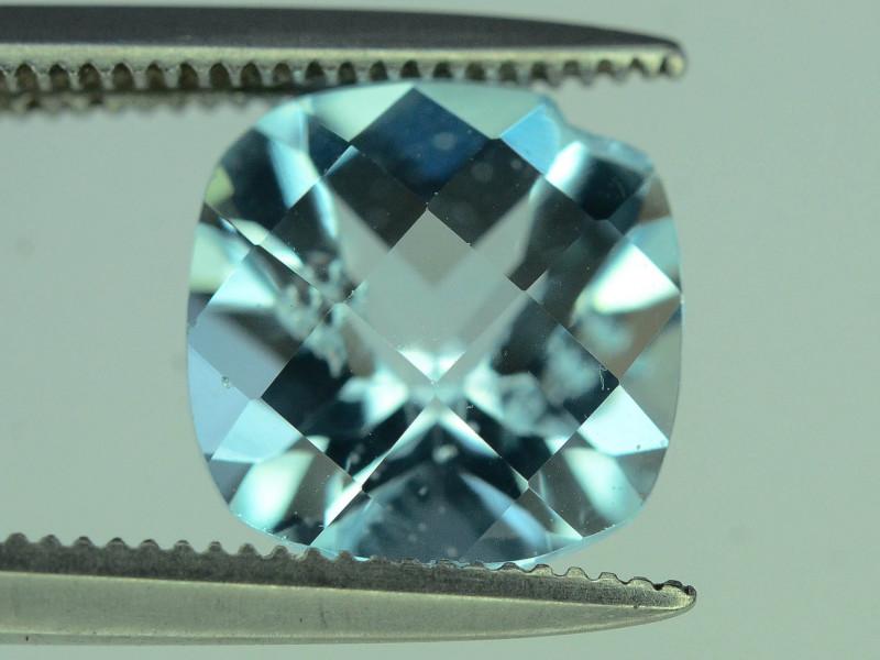 Fancy Cut Amazing Color 2.70 ct Blue Topaz
