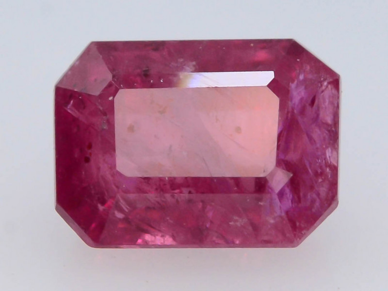 Mozambique Ruby 1.10 Ct Natural Reddish Pink Ruby