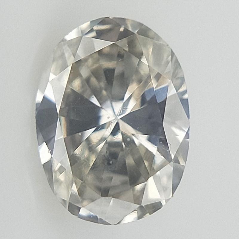 0.07 CT , Oval Brilliant Diamond , Light Color Diamond