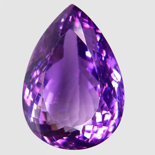 36.16 ct 100% Natural Earth Mined Unheated Purple Amethyst, Uruguay