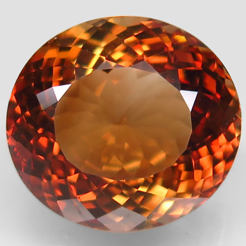17.94 ct. 100% Natural Earth Mined Topaz Orangey Brown Brazil