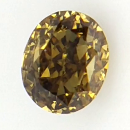 0.10 ct , Brownish Green Natural Diamond , Diamond For Jewelry