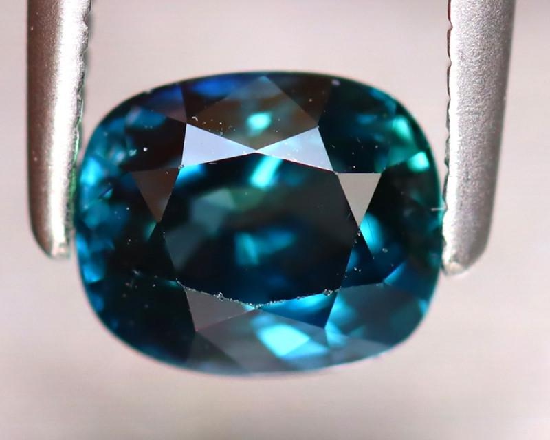 Sapphire 1.06Ct Natural Peacock Sapphire ER329/B25