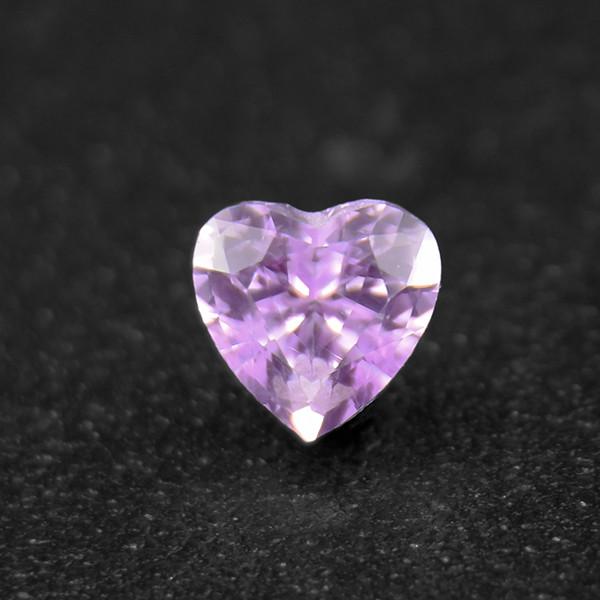 Natural Sapphire Pink Heart , Well-Cut 0.33ct (01724)