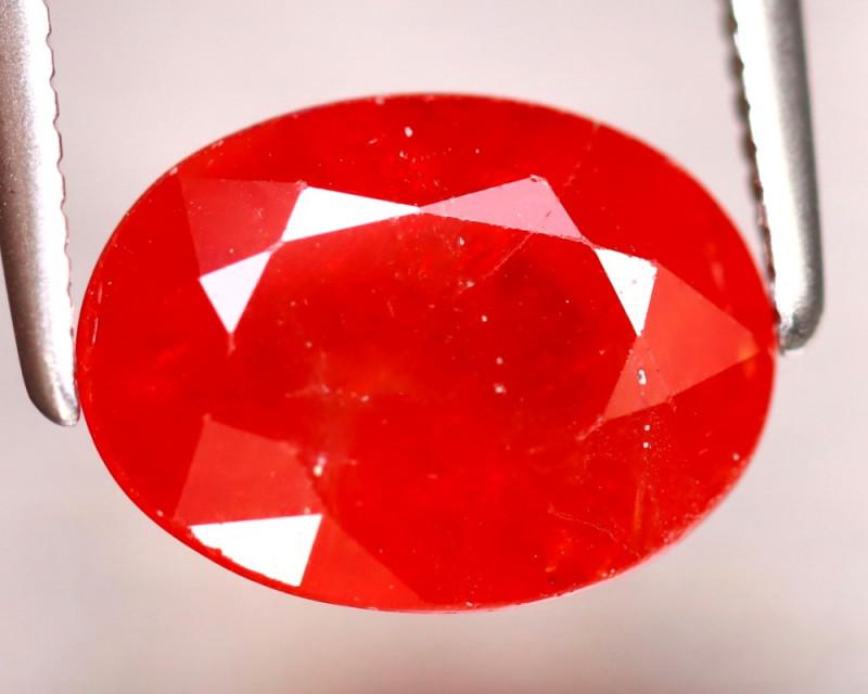 Sapphire 3.84Ct Natural Reddish Orange Sapphire ER332/B38