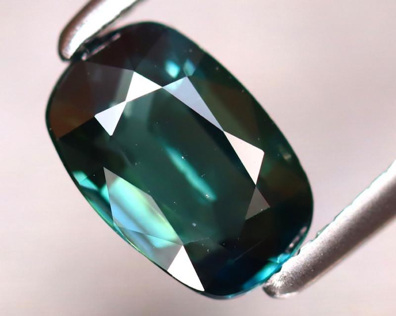 Sapphire 1.04Ct Natural Peacock Sapphire ER334/B25