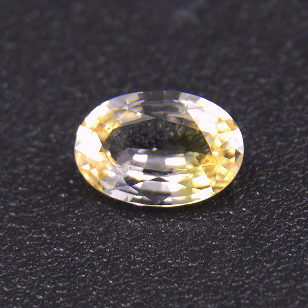 Natural Yellow Sapphire well-cut 0.63ct (01668a)