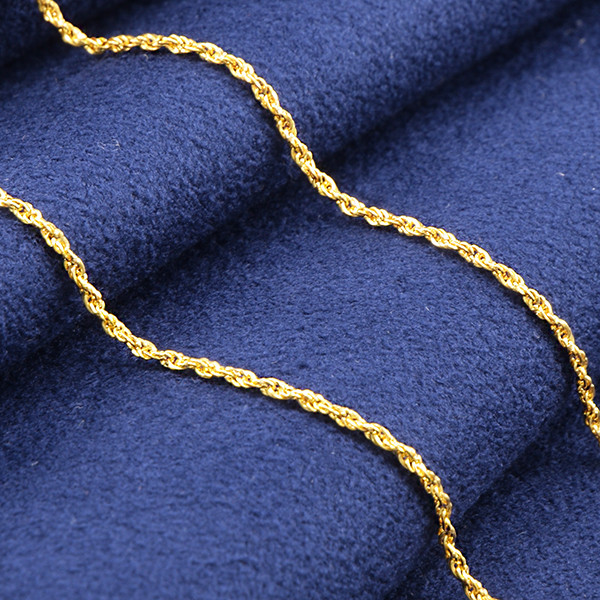 18kt SOLID Gold Singapore Chain 18 inches
