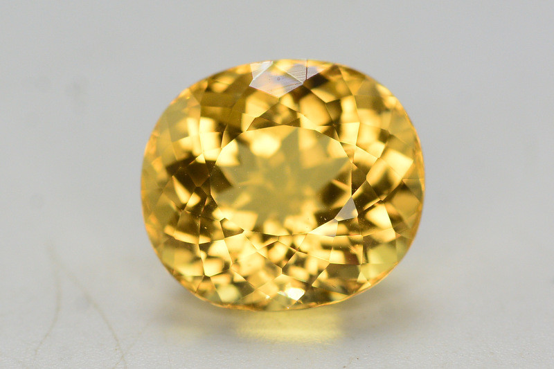 5.85 Ct Natural Heliodor ~ AAA Grade ~ Yellow Color
