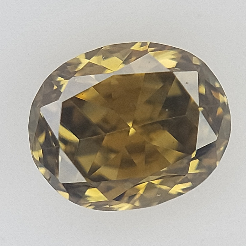 0.10 ct  , Yellowish Green Diamond , Diamond For Jewelry