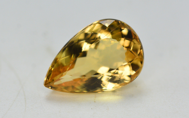 3.85 Ct Natural Heliodor ~ AAA Grade ~ Yellow Color