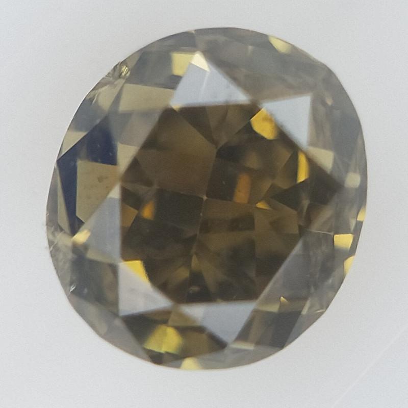0.15 CT , Sparkling Diamond ,Modified Oval Cut