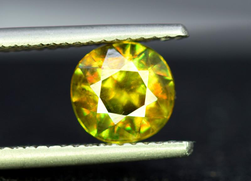Sphene Titanite, 2.10 CT Natural Full Fire Sphene Titanite Gemstone