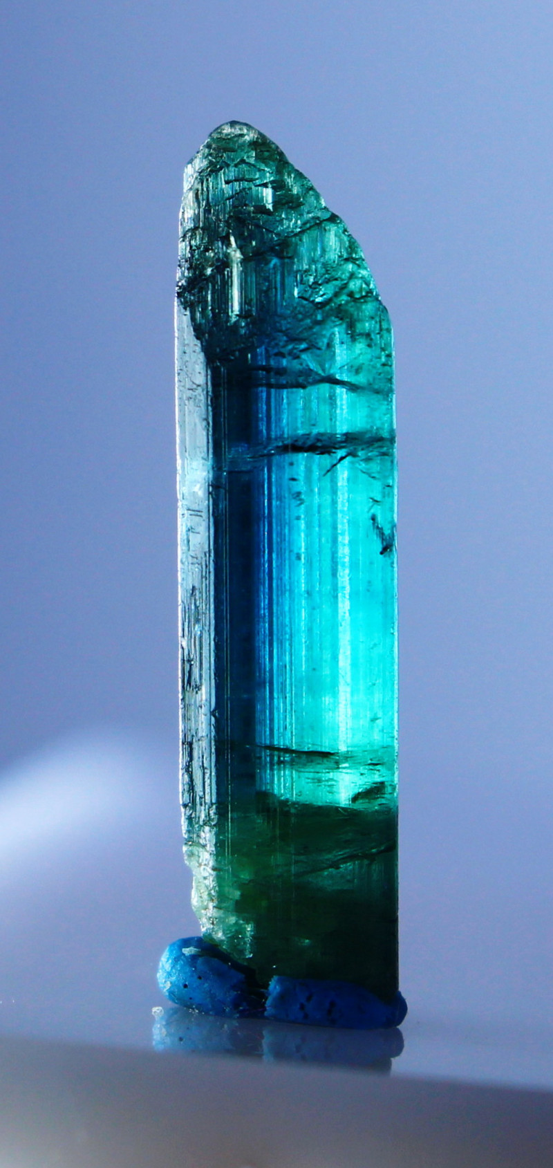 NR!!!! 6.30 CTs Natural - Unheated Blue Tourmaline Crystal