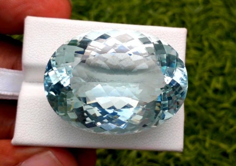 Aquamarine,  75.65 cts Top Color Natural Aquamarine from Pakistan