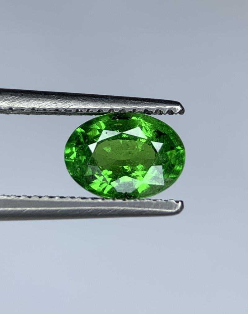 0.99 Carats vivid Green Natural Tsavorite Gemstone