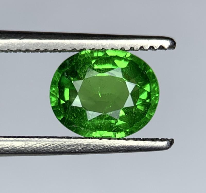 1.48 Carats vivid Green Natural Tsavorite Gemstone