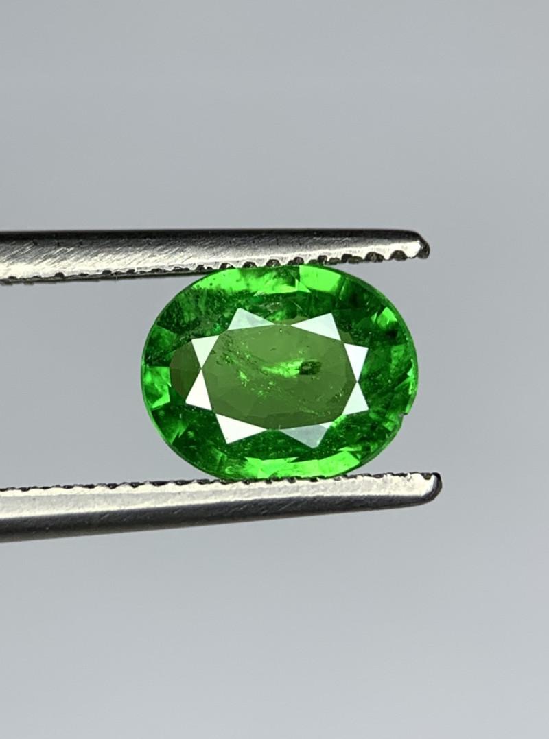 1.15 Carats vivid Green Natural Tsavorite Gemstone