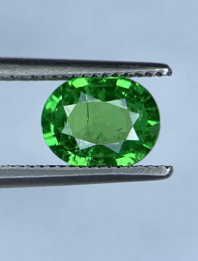 1.16 Carats vivid Green Natural Tsavorite Gemstone