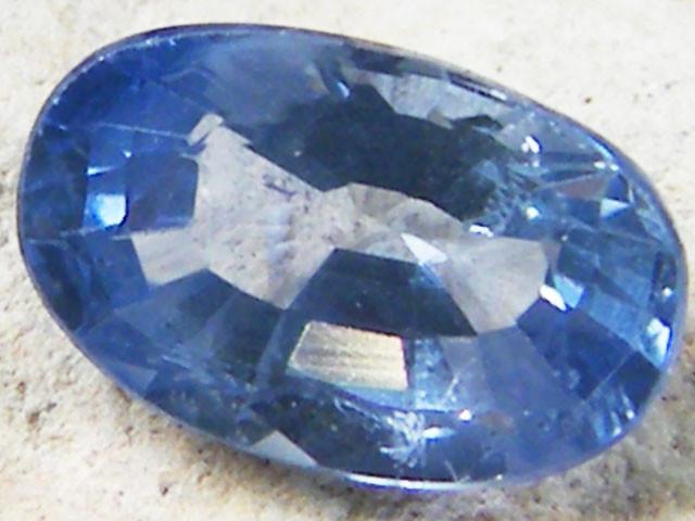 PASTEL BLUE COLOUR SAPPHIRE  .95CARAT  TW737