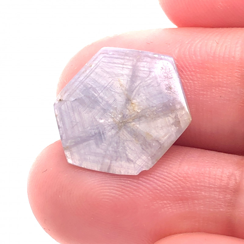 SEE THROUGH TRAPICHE SAPPHIRE 5.44CTS MYT106
