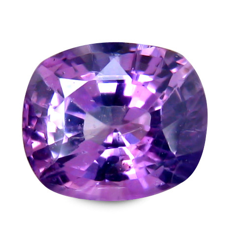 Cylon Sapphire 1.09 Cts Purple Antique Step Cut BGC36