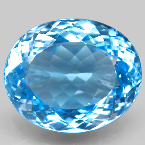 26.00 ct. 100% Natural Earth Mined Top Quality Blue Topaz Brazil