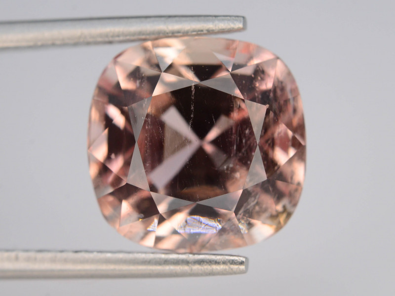 GGI LAB CER 8.19 ct Natural Imperial Topaz ~ Katlang Mine