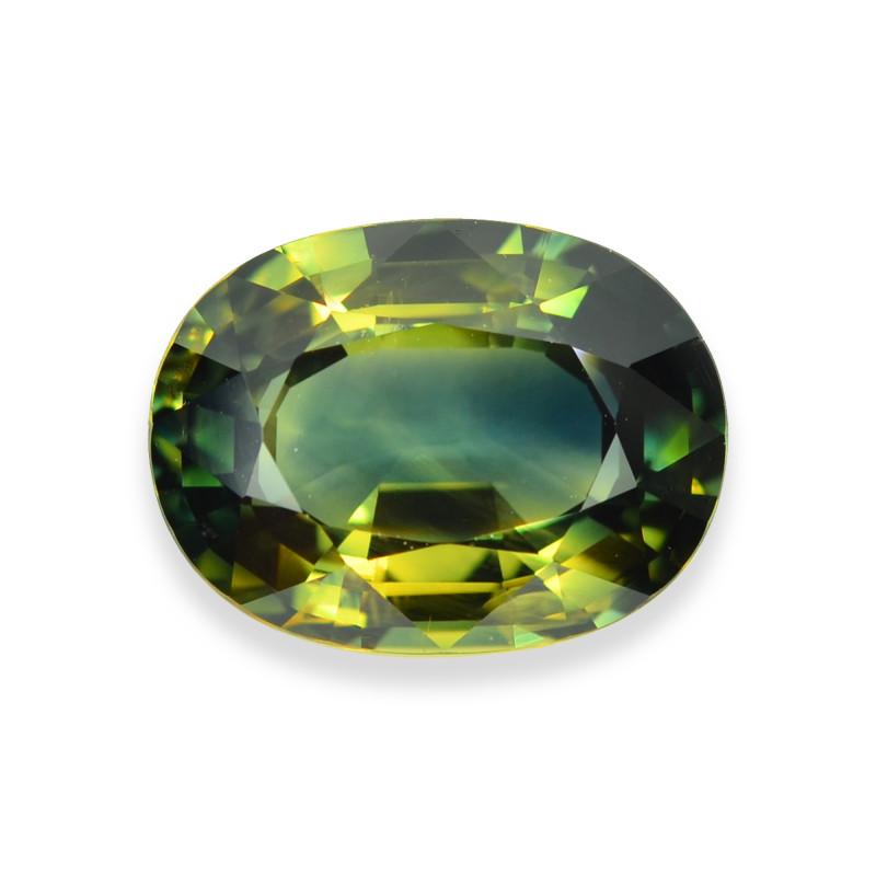 5.13 Cts Gorgeous Lustrous Natural Bi-Color Sapphire