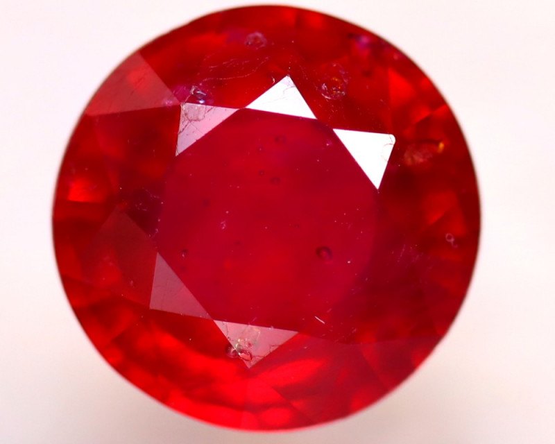 Ruby 5.32Ct Madagascar Blood Red Ruby D0507/A20