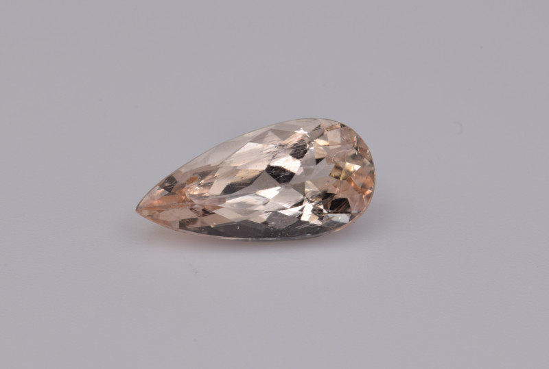Natural Imperial Topaz 2.96 Cts Rare Gemstone from Katlang, Pakistan