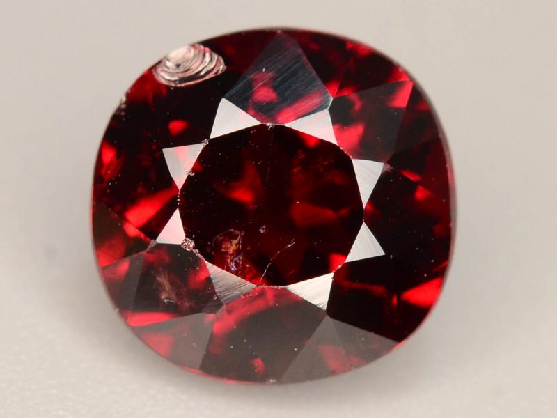 Top Grade 3.90 ct Fancy Cut Red Garnet~KS