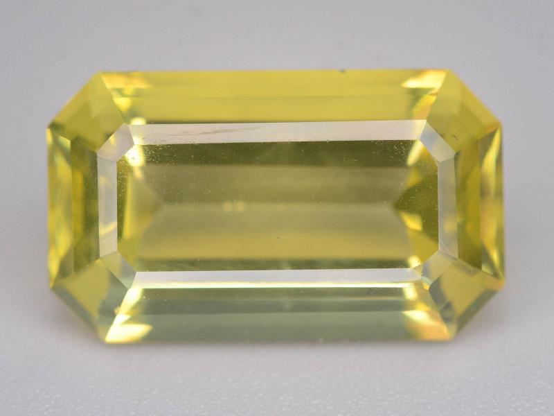 Top Color 9.15 ct Fancy Cut Lemon Citrine