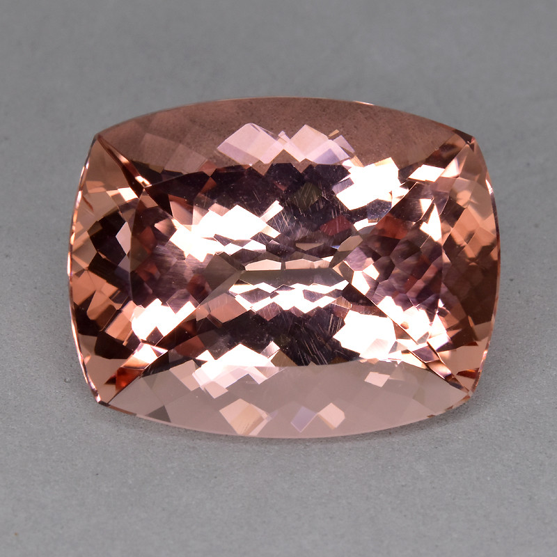 27.85 CTS 100% NATURAL RARE MORGANITE (PEACH PINK EMERALD)~EXCELLENT!