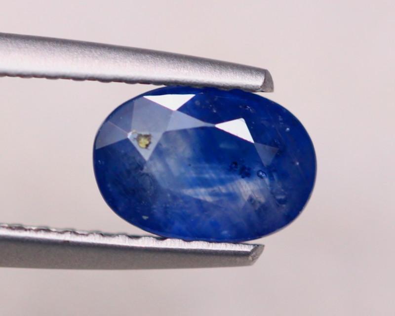 1.36ct Natural Blue Sapphire Oval Cut Lot D419