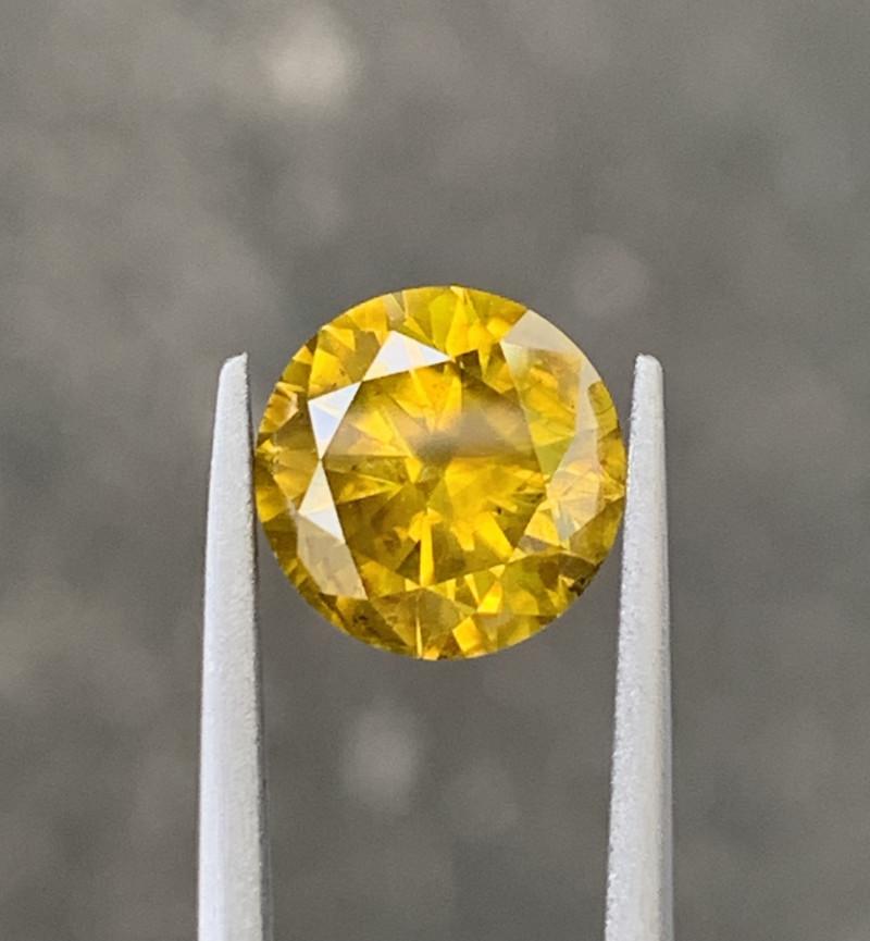 2.65 CT yellow Diamond Gemstones