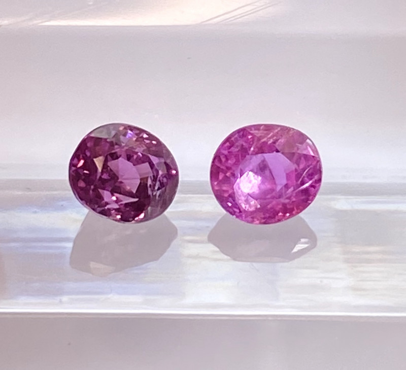 0.77ct unheated pink sapphire