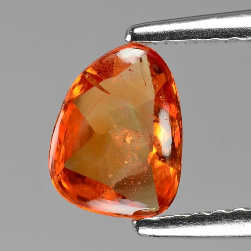 Orange Sapphire 0.96 Cts Amazing Rare Natural Fancy Loose Gemstone